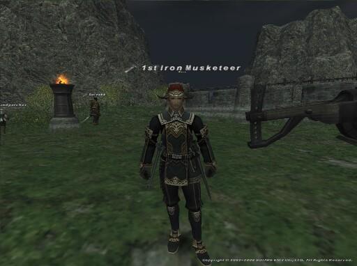 1st Iron Musketeer - ファースト・アイアン・マスケティアー