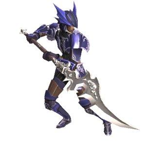 竜騎士レリック装束+ミシック